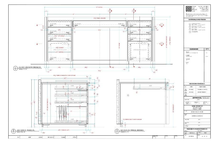 Schematic Office Desk - Data Wiring Diagram